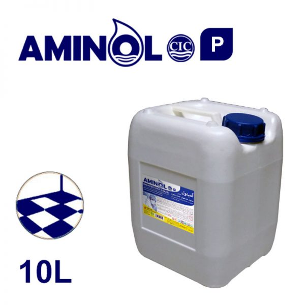 """Aminol-P"" powerful disinfectant 10-liter gallon"