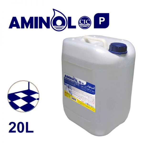 """Aminol-P"" powerful disinfectant 20-liter gallon"