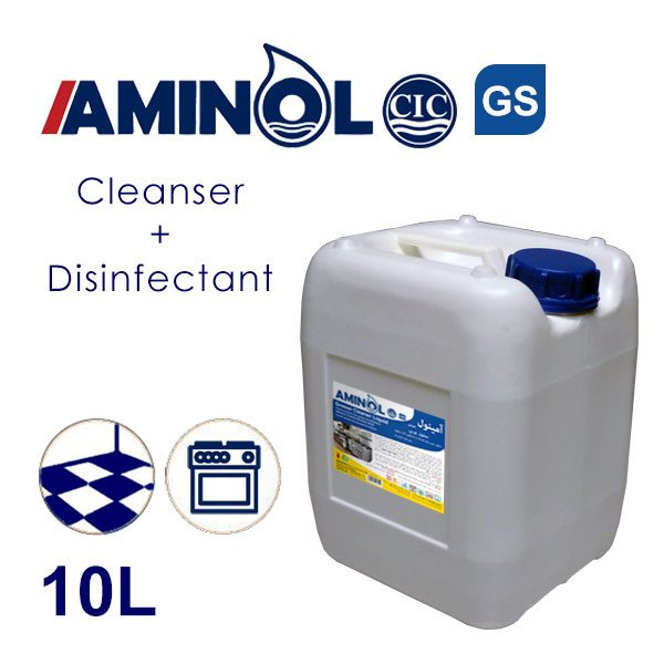 Aminol GS - 10L galon - Greas cleaner and Disinfectant