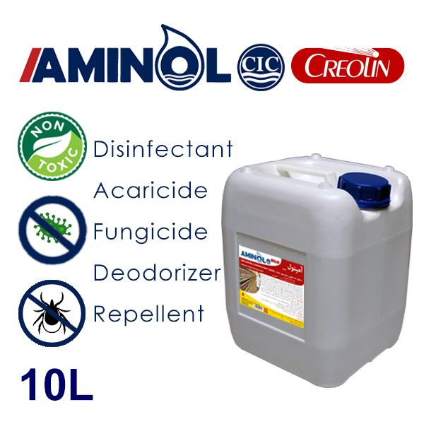 گالن 10 لیتری آمینول کرولین - ضد عفونی کننده، حشره کش، کنه کش، قارچ کش ودور کننده حشرات