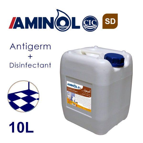 گالن 10 لیتری آمینول SD - محلول جرم گیر و ضدعفونی کننده