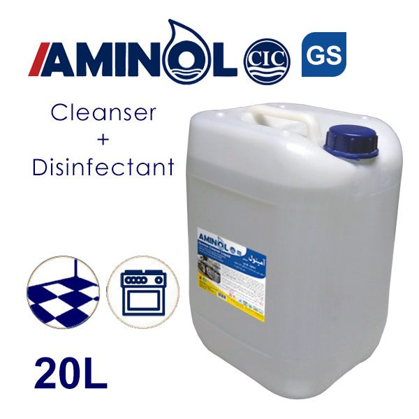 Aminol GS - 20L galon - Greas cleaner and Disinfectant