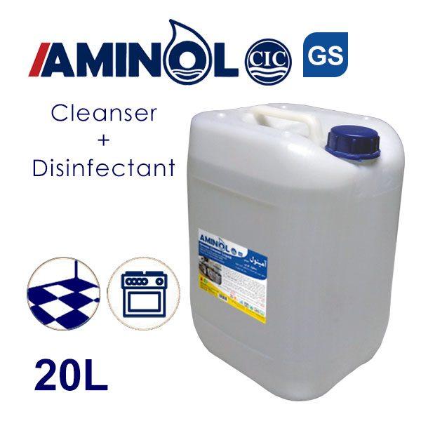 «Aminol-GS» обезжиривающий и дезинфицирующий раствор