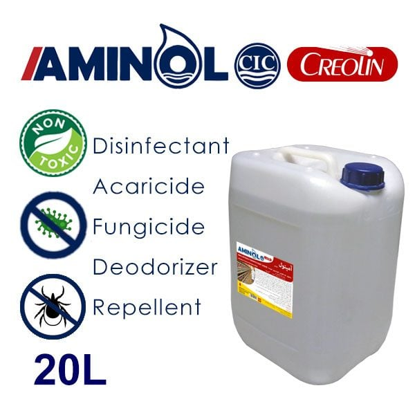 Aminol creolin - 20L galon - Disinfectant, insecticide, acaricide, fungicide, insect repellent