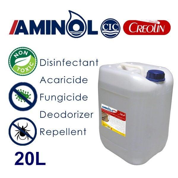 گالن 20 لیتری آمینول کرولین - ضد عفونی کننده، حشره کش، کنه کش، قارچ کش ودور کننده حشرات