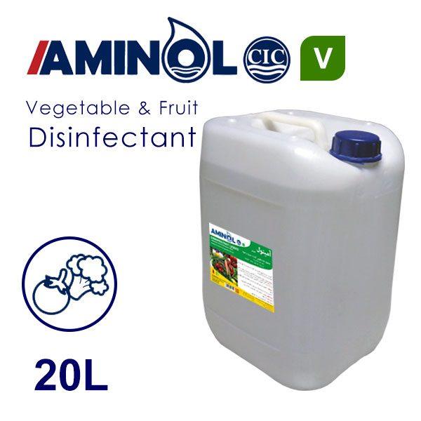 گالن 20 لیتری ضد عفونی کننده سبزیجات و میوه آمینول V