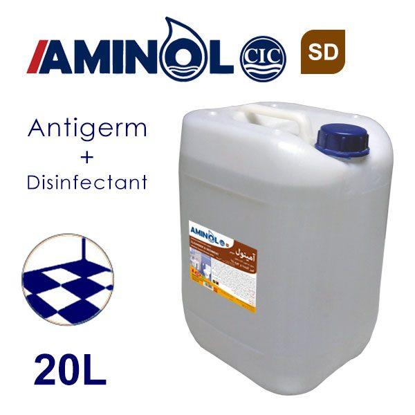 گالن 20 لیتری آمینول SD - محلول جرم گیر و ضدعفونی کننده