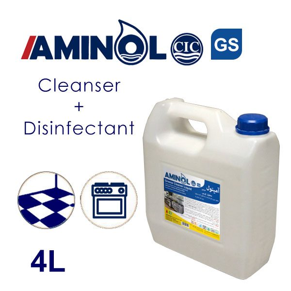 Aminol GS - 4L galon - Greas cleaner and Disinfectant