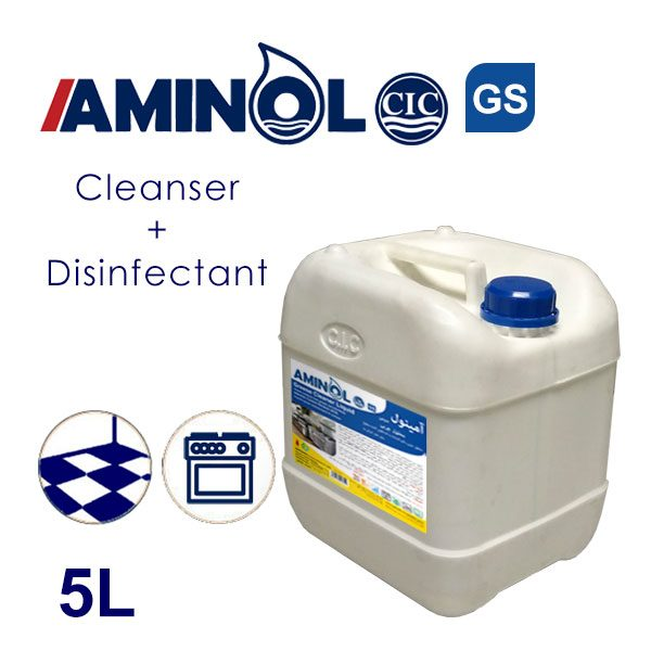 Aminol GS - 5L galon - Greas cleaner and Disinfectant