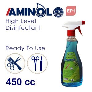 """Aminol Ep1"" 450cc disinfectant sprays for Cosmetic and Dentistry tools and surfaces"
