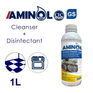 Aminol GS - 1L bottle - Greas cleaner and Disinfectant