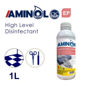 Aminol EP - 1L Bottle - Hospital equipment and tools Disinfectant