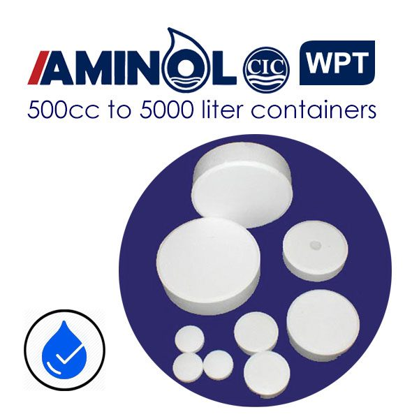 قرص های تصفیه و ضدعفونی آب آمینول WPT