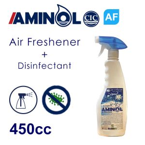 """Aminol-AF"" Air freshener bottle"