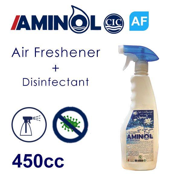 """""""Aminol-AF"""" Air freshener bottle"""