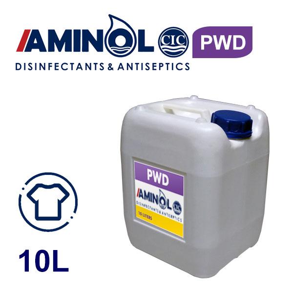 10 л галлон AMINOL PWD - Жидкость для дезинфекции одежды и ароматизатора