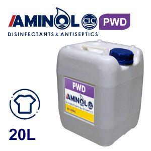 گالن 20 لیتری محلول ضدعفونی و خوشبو کننده البسه PWD