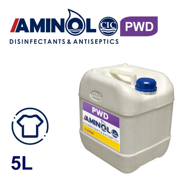 5 л галлон AMINOL PWD - Жидкость для дезинфекции одежды и ароматизатора