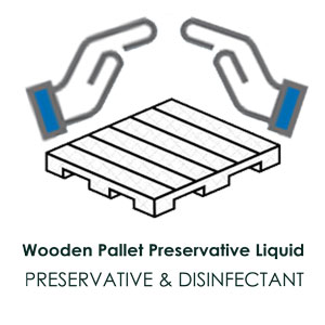 Wooden Pallet Disinfectant, Clanser and Preservative